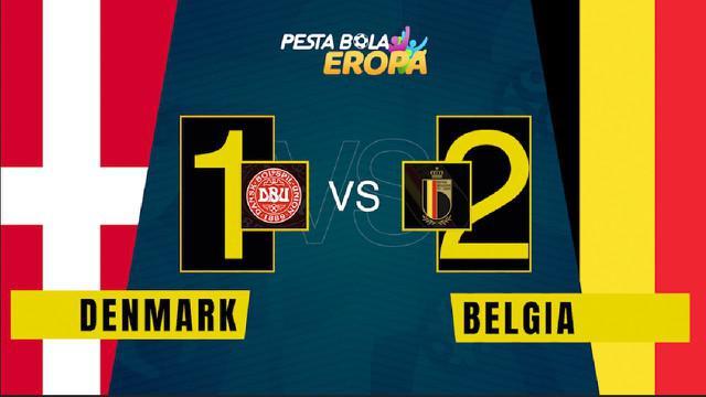 Berita video motion grafis, hasil pertandingan Belgia melawan Denmark dalam lanjutan Euro 2020, Kamis (17/6/2021).