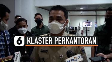 Klaster Covid-19 perkantoran meningkat. Pemprov DKI Jakarta minta Satgas Covid-19 mengawasi ketat perkantoran. Jumlah kasus positif perkantoran mencapai 425 kasus.