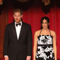 Pangeran Harry dan Meghan Markle saat menghadiri acara Royal Variety Performance (Ian Vogler / POOL / AFP)