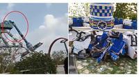 Wahana permainan swing ride ini  patah dan telan 29 korban jiwa. (Sumber: World of Buzz)