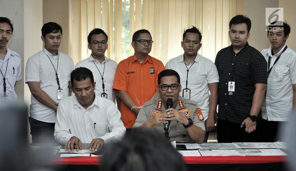 Foto Polisi Bongkar Kasus Penipuan Berkedok Pinjaman Uang Dari