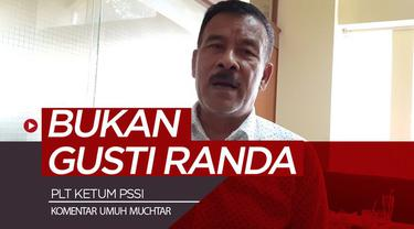 Berita video komentar Manajer Persib Bandung, Umuh Muchtar, soal Gusti Randa yang seharusnya tidak menjabat Plt Ketua Umum PSSI.