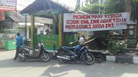 Tak cuma di Utan Kayu, sikap antipati pengemudi ojek pangkalan terhadap driver GO-JEK terjadi di banyak wilayah. (Audrey Santoso/Liputan6.com)