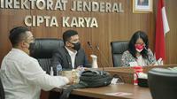 Wali Kota Medan, Bobby Nasution, kunjungan kerja ke Dirjen Cipta Karya Kementerian PUPR