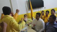 Bobby resmi mendaftar ke Partai Golkar sebagai bakal calon (balon) Wali Kota Medan