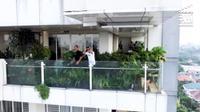 Menengok Kebun Sayuran di Balkon Apartemen Daniel Mananta yang Penuh Tanaman . foto; Youtube 'Boy William'