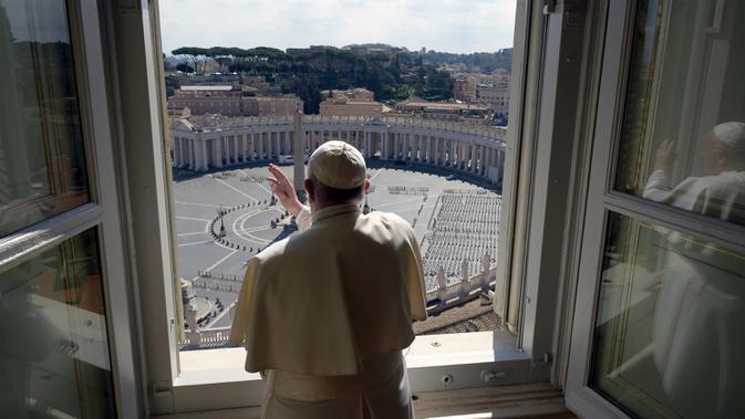 Paus Fransiskus Sumbang 30 Respirator ke Rumah Sakit di