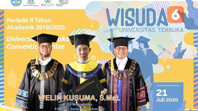 Welin Kusuma, Pria dengan 35 Gelar kredit: Welin Kusuma