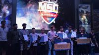 Pemenang Mobile Legends South East Asia Cup (MSC) 2017 regional Indonesia. Dok: codapayments.com