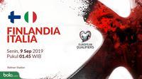 Kualifikasi Piala Eropa 2020 - Finlandia Vs Italia (Bola.com/Adreanus Titus)
