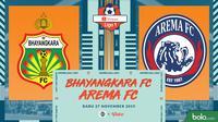 Shopee Liga 1 - Bhayangkara FC Vs Arema FC (Bola.com/Adreanus Titus)