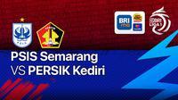 BRI Liga 1 Jumat, 15 Oktober 2021 : PSIS Semarang Vs Persik Kediri