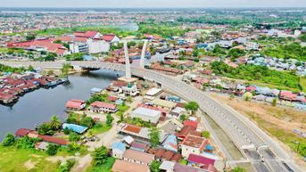 Dengar Desakan Warga, Jokowi Minta Jembatan Sei Alalak Segera Dibuka