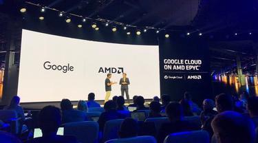 Google Akan Gunakan Chipset AMD Epyc untuk Pusat Data