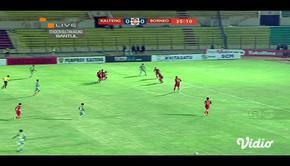 Laga lanjutan Shopee Liga 1,  Kalteng vs Borneo  berakhir  0-1 #shopeeliga1 #kalteng #borneo
