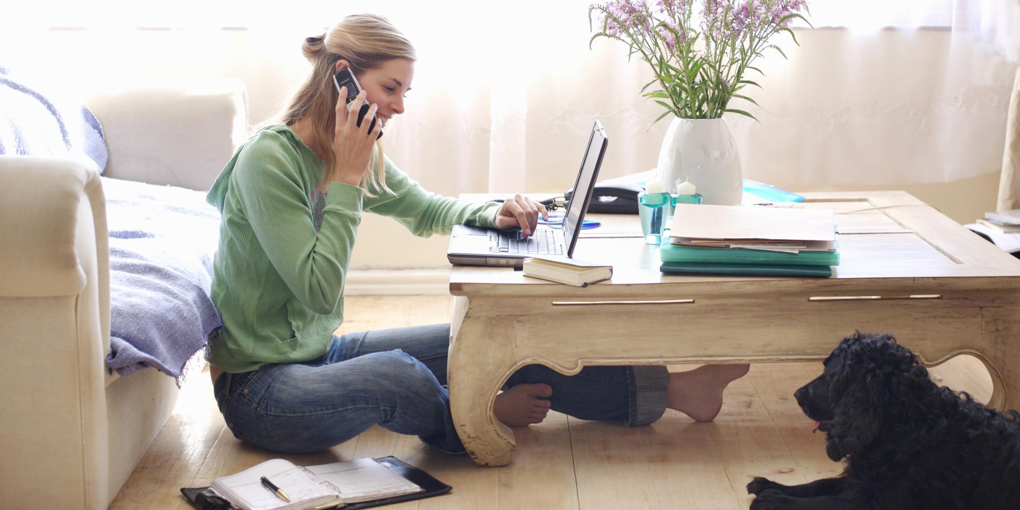 Tips Kerja Efektif dari Rumah (Foto: huffingtonpost.com)