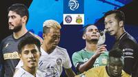 BRI Liga 1 - Duel Antarlini - Arema FC Vs Bhayangkara FC (Bola.com/Adreanus Titus)