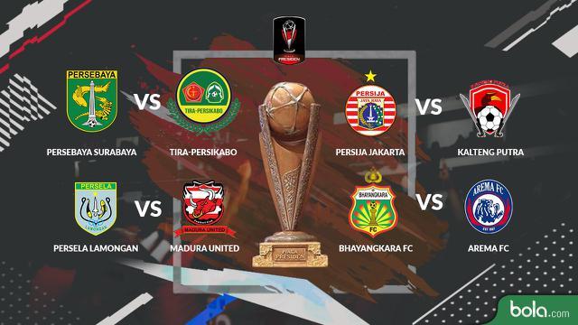 Jadwal  Besar Piala Presiden  Di Indosiar Bola Liputan Com