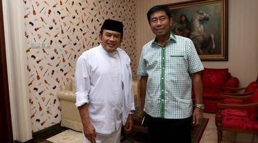 Pertemuan berlangsung tertutup, Rhoma Irama menyatakan sejalan dengan Visi dan Misi Haji Lulung namun belum menyatakan akan berkoalisi dengan Haji Lulung.