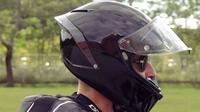 Fungsi spoiler helm bukan cuma buat gaya