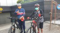 Wali Kota Sutiaji dan Sekda Wasto mengunjungi Proyek Mini Block Office di Belakang Balaikota Malang, Jumat (11/12).