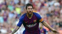 Lionel Messi siap antar Barcelona juara Liga Champions (AP Photo/Eric Alonso)