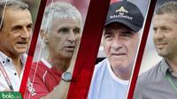 Trivia Pelatih-pelatih asing di Liga 1 (Bola.com/Adreanus Titus)
