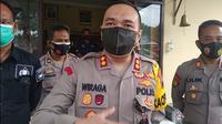 Kapolres Blora, AKBP Wiraga Dimas Tama. (Liputan6.com/Ahmad Adirin)