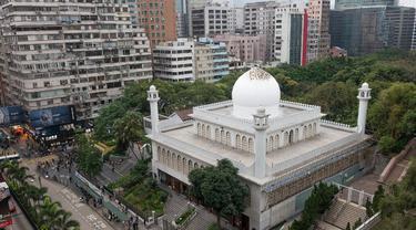 Masjid Raya Kowloon di Hong Kong