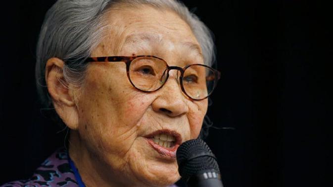 Pada usia 14 tahun, Kim Bok-dong mengaku ditipu oleh Jepang. Dia mulanya diiming-imingi menjadi pekerja sipil, namun dia justru dijadikan budak seks oleh tentara Jepang pada era Perang Dunia II. (Foto: AFP)
