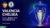 Liga Champions - Valencia Vs Chelsea (Bola.com/Adreanus Titus)