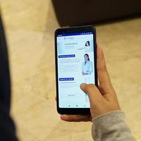 Aplikasi perawatan wajah/dok. dr. Affandi
