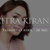 Dalam penerawangan astrolger bintang.com, salah satu zodiac yang pandai memberi solusi adalah taurus. Bagaimana kalau menurut aktris cantik, Citra Kirana?
