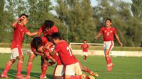 Timnas Indonesia U-19 saat berlaga melawan Arab Saudi. (Dok. PSSI)