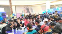 Kompetisi e-sports di Surabaya, Jawa Timur (Foto:Liputan6.com/Dian Kurniawan)