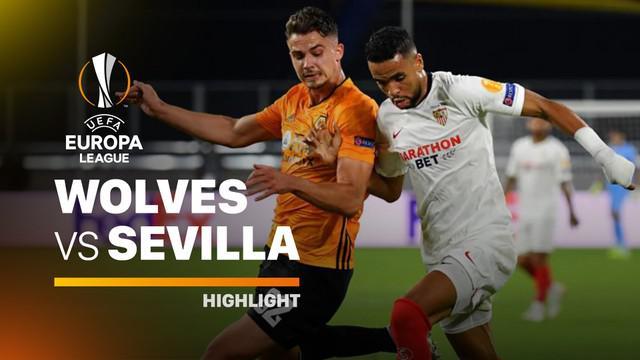 Berita video highlights perempat final Liga Europa 2019/2020 antara Wolverhampton melawan Sevilla yang berakhir dengan skor 0-1, Rabu (12/8/2020) dinihari WIB. Selanjutnya, Los Palanganas menghadapi Manchester United.