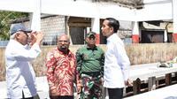 Presiden Joko Widodo (Jokowi) menginstruksikan Kementerian PUPR untuk memperbaiki fasilitas sosial dan umum seperti pasar, gedung pemerintahan, toko, dan sekolah di Wamena.