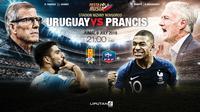 Prediksi Uruguay Vs Prancis (Liputan6.com/Trie yas)