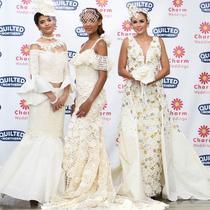 Tiga gaun pemenang pertama kedua dan ketiga dalam selama Kontes ini (dok instagram @tpdresscontest/https://www.instagram.com/p/B3KPLp9jY-H/Ossid Duha Jussas Salma)