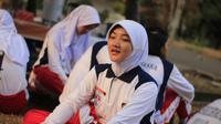 Salma, Paskibraka Nasional 2019 dari Jawa Tengah (Aditya Eka Prawira/Liputan6.com)