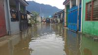 Pada tahun ini, warga perumahan BTN Gajah Mada di Jayapura sudah empat kali kebanjiran. (Kabarpapua.co/Fitrus Arung)