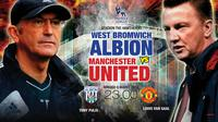 WEST BROMWICH ALBION FC VS MANCHESTER UNITED FC (Liputan6.com/Abdillah)