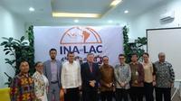 Pengarahan kepada media tentang Indonesia - Latin America & the Caribbean Business Forum yang akan digelar pada 14-15 Oktober 2019 (Rizki Akbar Hasan / Liputan6.com)