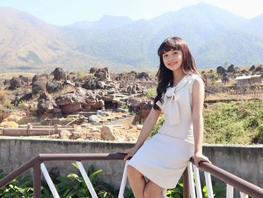 Memiliki nama lengkap Najwa Camila Tasya, gadis kelahiran Kota Pasuruan ini sudah mulai meniti karier sejak usia 4 tahun. (Liputan6.com/IG/@tasya_ratu_gopo)