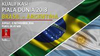 Kualifikasi Piala Dunia 2018_Brasil Vs Argentina (Bola.com/Adreanus Titus)