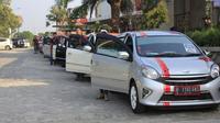 Toyota Agya Club mengingatkan membernya agar tak marah saat diselak mobil lain ketika touring. (toyotaagyaclubindonesia)