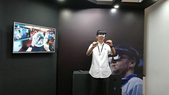 Indosat Ooredoo uji coba teknologi 5G melalui 3D Augmented Reality (AR)