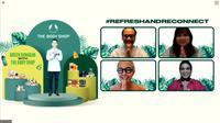 The Body Shop menghadirkan kampanye Bulan Ramadan dengan tajuk Green Ramadan. (Tangkapan Layar Zoom)