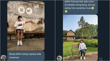 6 Foto Editan Netizen Minta Pasangan, Banjir Doa Agar Berjodoh
