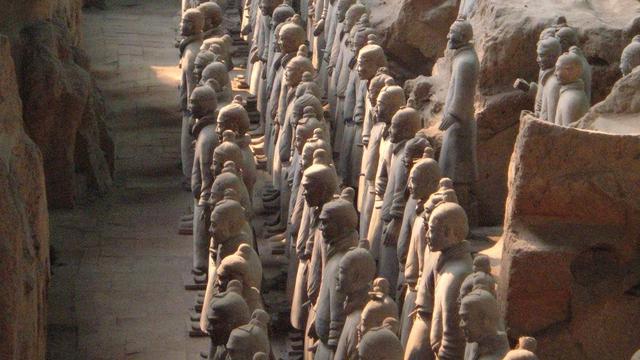 Makan Qin Shi Huang (Wikimedia Commons)